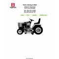 Ingersoll 3016, 3018, 3020, 4016, 4018, 4020 Compact Tractors with Onan Engines Parts Catalog 8-3042