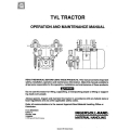 Ingersoll-Rand TVL Tractor MHD56034 Operation and Maintenance Manual 1990