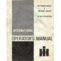 International 2 Rotary Tiller Setting Up Instructions Operator's Manual