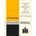 International Blade 42 & 54 inch (1066.8 & 1371.6 mm) with Spring Trip for Cub Cadet Tractors Operator's Manual