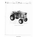 International Cub Cadet 104 Tractor Parts Manual