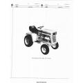 International Cub Cadet 106 Tractor Parts Manual
