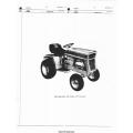 International Cub Cadet 107 Tractor Parts Manual