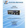 Jupiter Avionics JA95-001 Audio   Controller Installation and Operating Manual $9.95