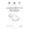 Jaguar S-Type Electrical Guide 2002.5 $9.95