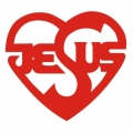 Jesus Heart! Sticker/ Decals!