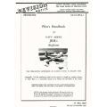 Martin JRM-1 Mars Navy Model Airplane Pilot's Handbook $5.95