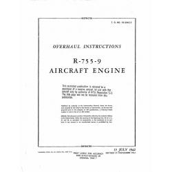Jacob R-755-9 Overhaul Instructions R-755-9