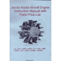 Jacobs L-4 225 H.P Radial Aircraft Engine Instruction Manual and Parts List $5.95