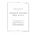 Jacobs R-755-9 Aircarft Engines Parts Catalog 1944 $5.95