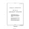Jacobs R-755-9 Aircraft Engine Overhaul Instructions 1942 - 1944