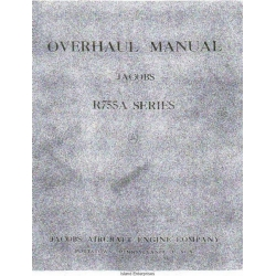 Jacobs R-755A Series Aircraft Engine Overhaul Manual