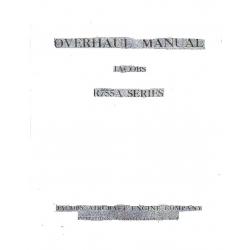 Jacobs Overhaul Manual R755A Series