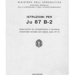 Junkers Ju 87 B-2 Istruzioni Per (Italian Language) $2.95