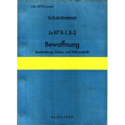 Junkers Ju 87 B1 and B2 Bewaffnung $4.95