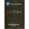 Junkers Ju 87 B2 Betriebsanleitung $4.95