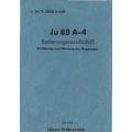 Junkers Ju 88 A-4 Bedienungsvorschrift-FI $4.95