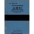Junkers Ju 88 G-1 Schusswaffenanlage Bedienungsvorschrift-Wa $2.95