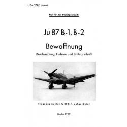 Junkers Ju 87 B-1, B-2 Bewaffnung $9.95
