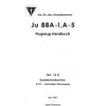 Junkers Ju 88 A-1, A-5 Flugzeug-Handbuch Teil 12D Sondereinbauten $2.95