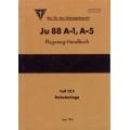 Junkers Ju 88 A-1, A-5 Flugzeug-Handbuch Teil 12F Nebelanlage $2.95
