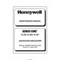 Bendix King KI 202, KI 206, KI 207 Navigation Indicators Maintenance Manual 006-05137-0005 $19.95