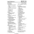 Bendix King KLN 94 Instrument Approach Reference GPS Navigation  System $9.95