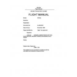 "Krosno KR-03A ""Puchatek"" Glider Flight Manual POH"