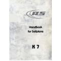 Schleicher K7 Handbook for Sailplane  $ 2.95