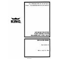 King KAP 100/KAP 150/KFC 150 Cessna R182,TR182,FR182 Flight Control System Installation Manual 006-0265-00 $29.95