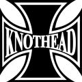 "Knothead Iron Cross Helmet/Tank Decals/Stickers 3""x3"""