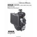 Kohler Aegis LH630,LH685,LH750, LH760 Liquid Cooled Horizontal Crankshaft Service Manual $9.95