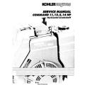 Kohler Command 11, 12.5, 14 HP Horizontal Crankshaft Service Manual 1990 - 1995 $9.95