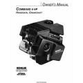 Kohler Command 6 HP Horizontal Crankshaft Owner's Manual $4.95