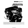 Kohler Command CH5 & CH6 5HP-6HP Service Manual 1989 - 1994 $9.95