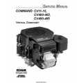 Kohler Command CV11-16, CV460-465, CV490-495 Vertical Crankshaft Service Manual 1991 - 2002 $9.95