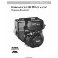 Kohler Command Pro CS Series 4-12 HP Horizontal Crankshaft Service Manual 1998 - 2000 $9.95