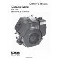 Kohler Command Series CH11-16 Horizontal Crankshaft Owner's Manual $4.95