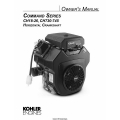 Kohler Command Series CH18-26, CH730-745 Horizontal Crankshaft Owner's Manual $4.95