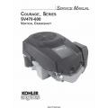 Kohler Courage Series SV470-600 Vertical Crankshaft Service Manual 2002 - 2004 $9.95