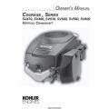 Kohler Courage Series SV470, SV480, SV530, SV540, SV590, SV600 Vertical Crankshaft Owner's Manual $4.95