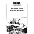 Kohler K482, K532, K582 & K662 Twin Cylinder Engine Service Manual
