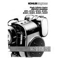 Kohler K91, K141, K161, K181, K241, K301, K321, K341 Single Cylinder Engines Service Manual