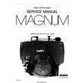 Kohler Magnum M8, M10, M12, M14, M16 Single Cylinder Engine Service Manual 1985-1986 $9.95