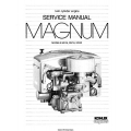 Kohler Magnum MV16, MV18, MV20 Twin Cylinder Engine Service Manual 1986 - 1988 $9.95