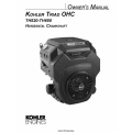 Kohler Triad OHC TH520-TH650 Horizontal Crankshaft Owner's Manual $4.95