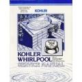 "Kohler Whirlpool with Air Actuator/Aspirator Control for ""SA"" Series Service Manual $4.95"