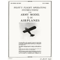 L-14 Army Models Airplanes Pilot's Flight Operating Instructions $2.95