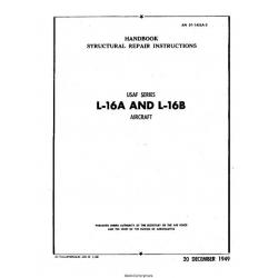 Aeronca L-16A & L-16B Handbook Structural Repair Instructions