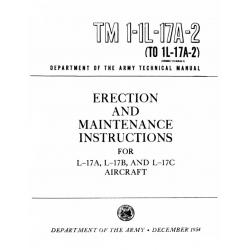 TM 1-1L-17A-2 Ryan Navion L-17A, L-17B & L-17C Erection & Maintenance Instructions